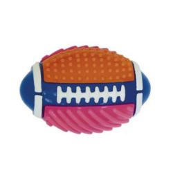 Palla in gomma tpr da rugby per cani
